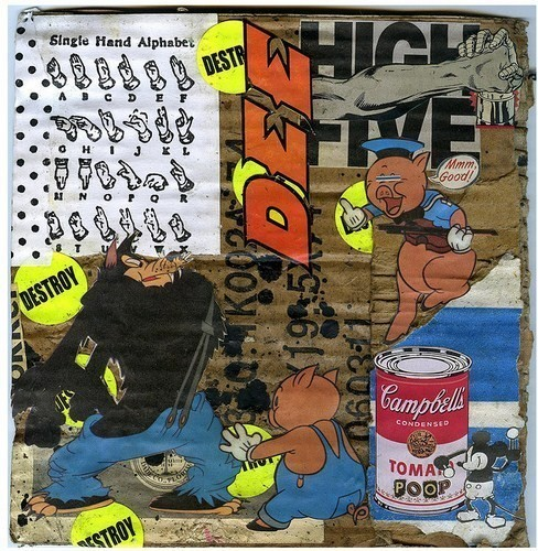 Изображение 55. Выставка: International Weird Collage Show.. Изображение № 55.