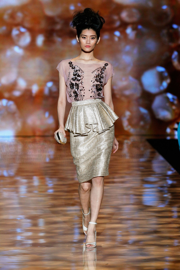 New York Fashion Week: Badgley Mischka Spring 2012. Изображение № 11.