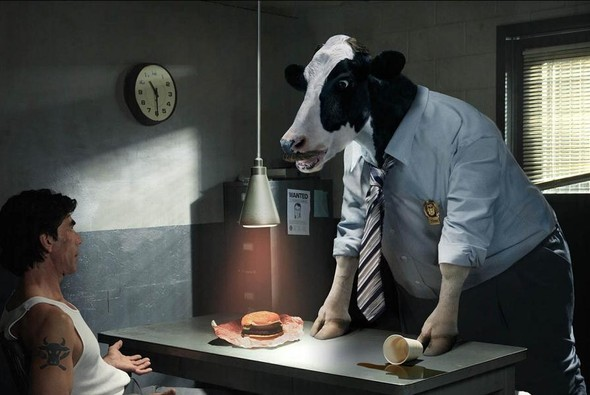 Mark Holthusen: коровы тоже люди. Изображение № 5.