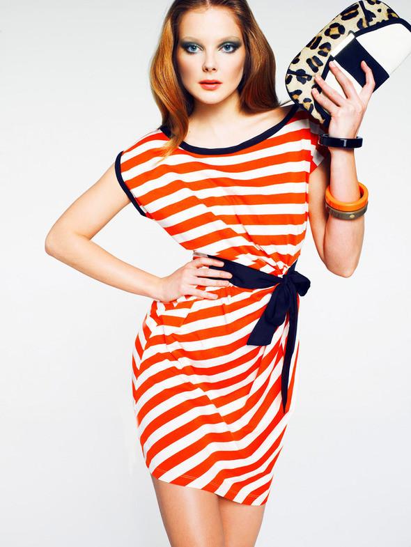 Изображение 1. Лукбук: Mango Color & Stripes.. Изображение № 1.