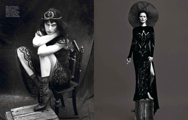 Новые съемки Dazed & Confused, Vogue, i-D и W Magazine. Изображение № 23.