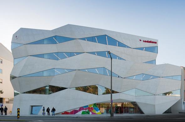 Vodafone центральный офис в Португалии. Изображение № 1.