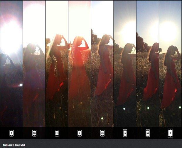 Фото: сравнение качества фотографий у восьми поколений iPhone. Изображение № 3.