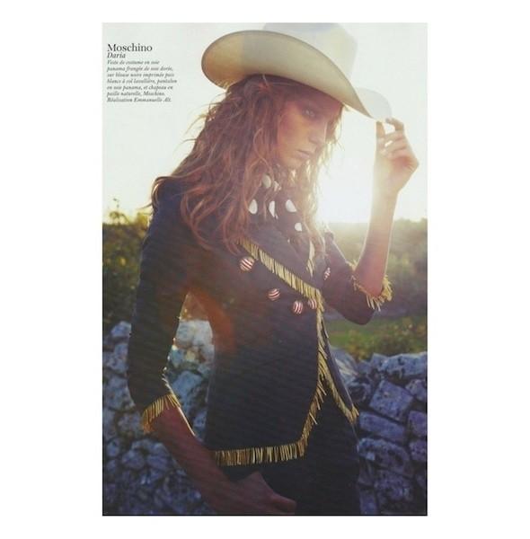 Изображение 53. Съемки: Harper's Bazaar, Industrie, Vogue и другие.. Изображение № 100.