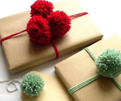 55 идей для упаковки новогодних подарков. Изображение №23.