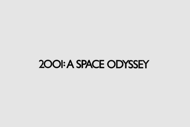 Шрифт с постера для фильма «2001 год: Космическая одиссея». На нём использован Gill Sans. Изображение № 3.