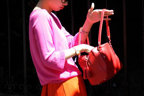 Изображение 9. Девушки на Milan Fashion Week: день 2.. Изображение № 9.