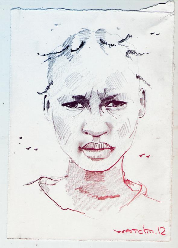 Sketch portraits. Изображение № 9.