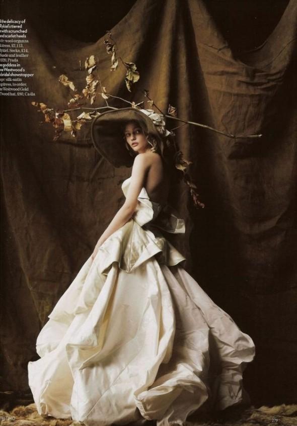 Изображение 6. «Sasha», британский Vogue, декабрь 2007.. Изображение № 6.