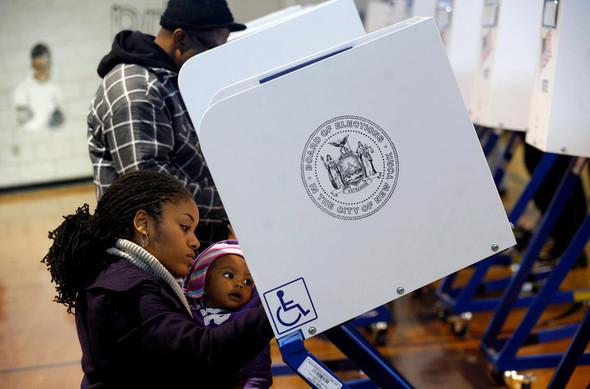 100 лет выборов в документальных фотографиях. Изображение № 133.