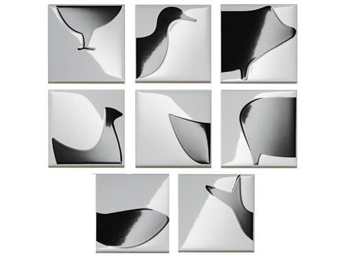 Черно-белый зоопарк: керамическая плитка от Bardelli. Изображение № 1.