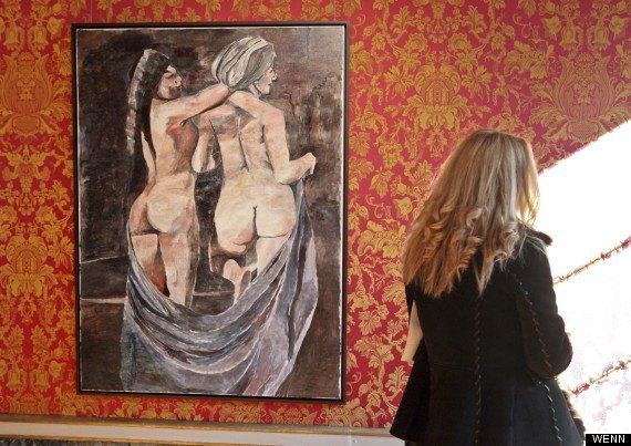 В Милане открылась выставка картин Боба Дилана. Изображение № 4.