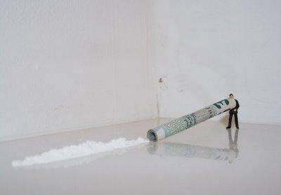 Большая жизнь маленьких людей от Slinkachu. Изображение № 32.
