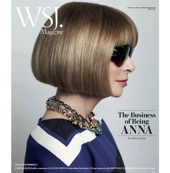Марио Тестино снял Анну Винтур для Wall Street Journal. Изображение № 1.