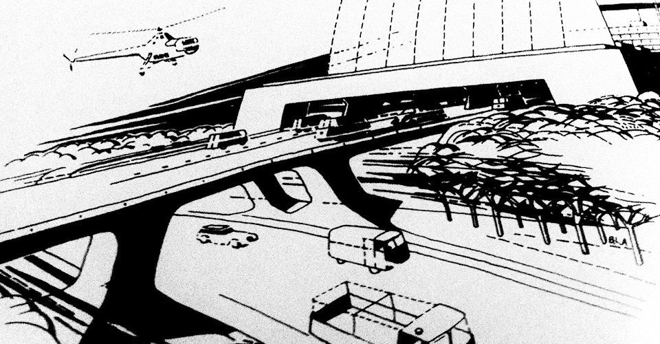 Как в XX веке представляли себе города будущего. Изображение № 4.