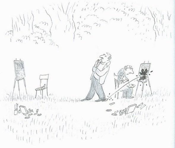 Изображение 14. Мечтатель Jean-Jacques Sempe.. Изображение № 13.