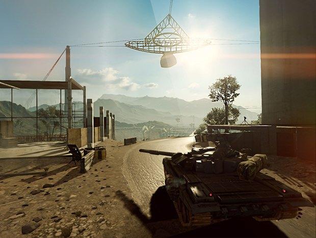 Скриншот разрабатываемой в Frostbite версии Battlefield 4 для iPad. Изображение № 1.