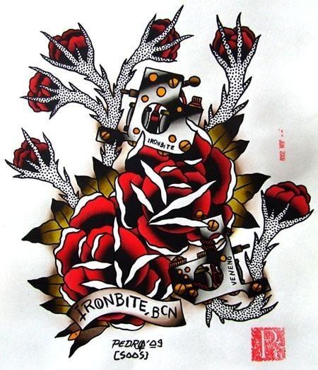 Tattoo Flash. Изображение № 15.