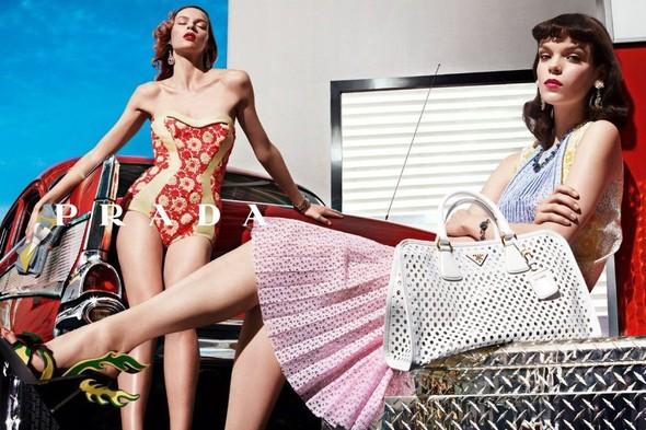 Кампания: Prada SS 2012. Изображение № 1.