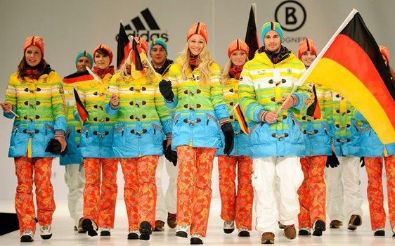 Немецкая олимпийская сборная показала форму для Сочи-2014. Изображение № 1.