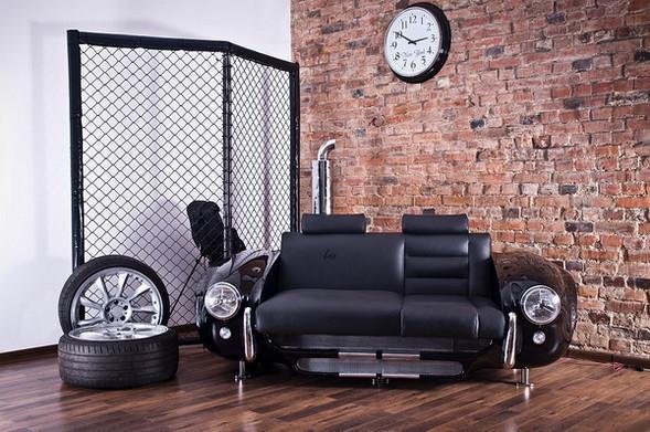 Мебель из автомобилей!. Изображение № 1.