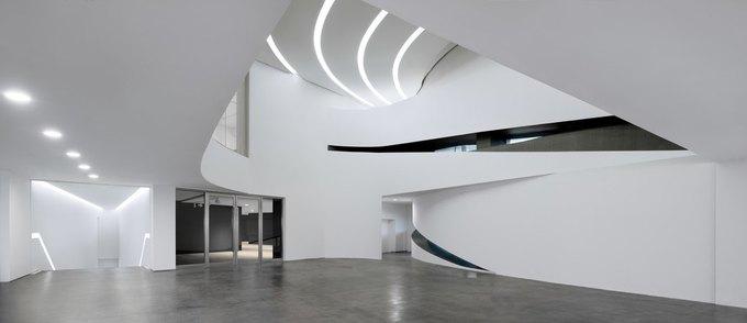 Архитектура дня: музей в Китае сбелым «слоёным» фасадом. Изображение № 19.