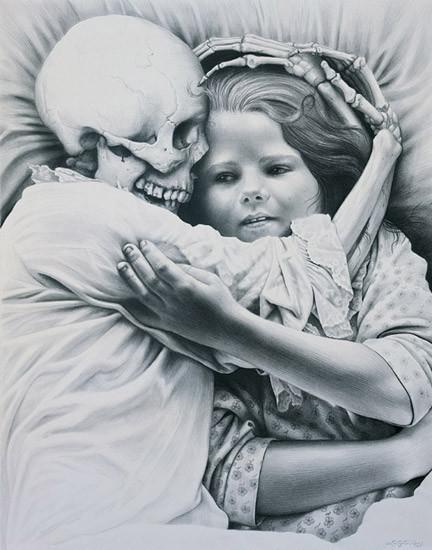Laurie Lipton «Сюрреализм внутри нас». Изображение № 10.