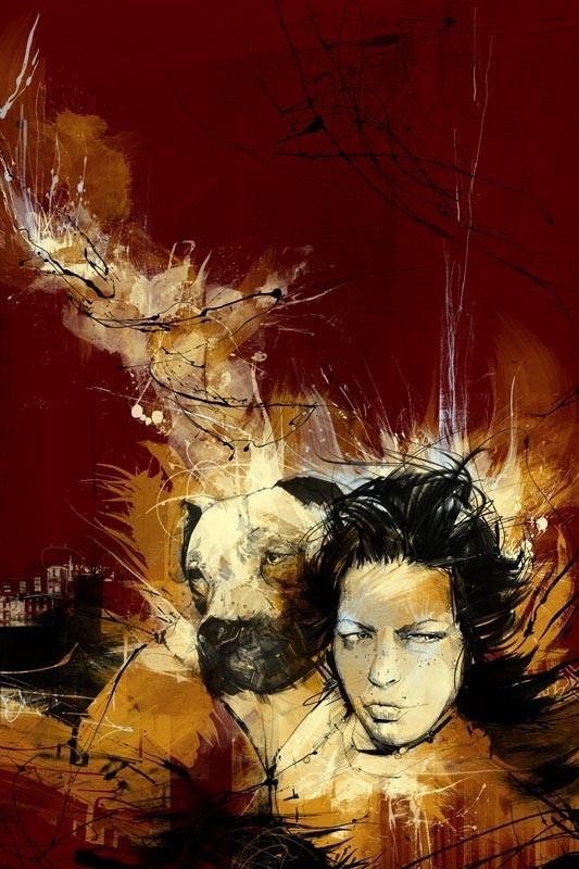 Russ Mills : графика, фотография и живопись. Изображение № 19.