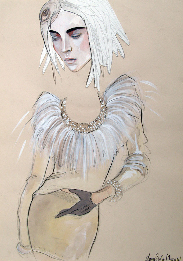 Изображение 14. Fashion-иллюстрационация от Anne Sofie Madsen.. Изображение № 14.