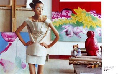 Сила искусства – China Vogue, June 2008. Изображение № 3.