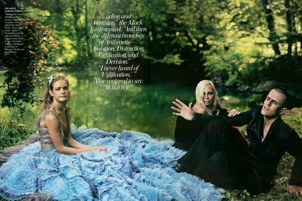 Архивная съемка: Наталья Водянова для американского Vogue 2003. Изображение № 12.