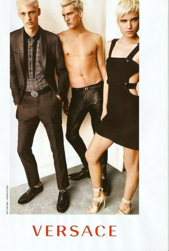 Изображение 24. Рекламные кампании: Chloe, Jean Paul Gaultier, Michael Kors и Versace.. Изображение № 23.