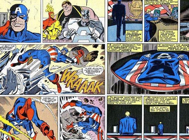10 лучших комиксов про Капитана Америку. Изображение № 16.