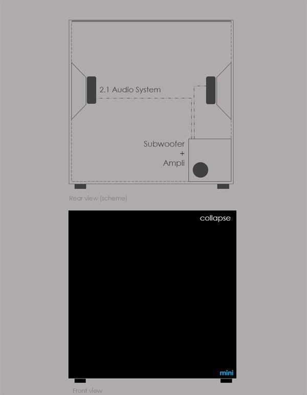 Дизайнер создал беспроводную зарядку и динамик для смартфона. Изображение № 3.