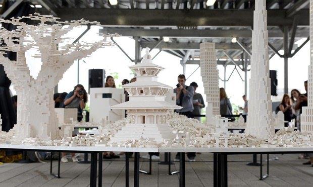 Слева направо: SHoP, James Corner Field Operations, Renzo Piano Building Workshop, BIG и Robert A.M. Stern Architects. Изображение № 2.