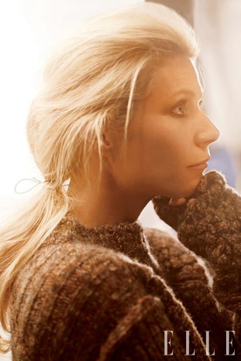 Съёмка: Гвинет Пэлтроу для Elle. Изображение № 5.