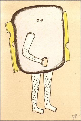 Sarah Knight иллюстратор изHonest Four. Изображение № 15.