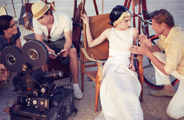 Съёмки: Elle, i-D и Vogue. Изображение № 23.