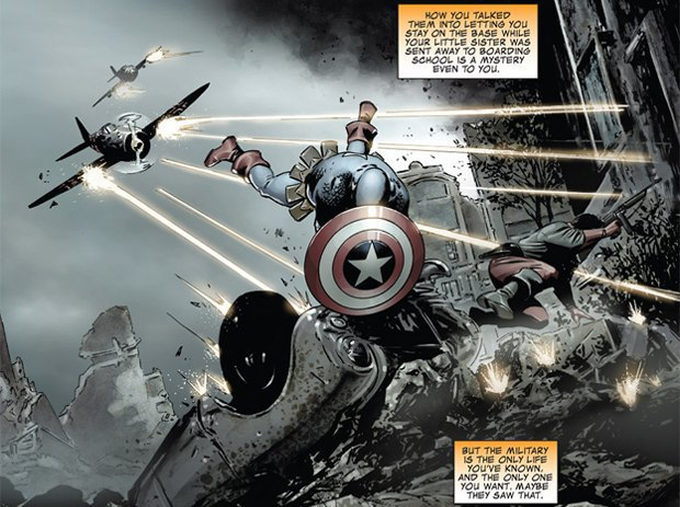 10 лучших комиксов про Капитана Америку. Изображение № 30.