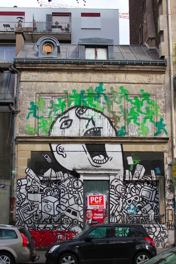 Стрит-арт центра Парижа. Изображение № 18.