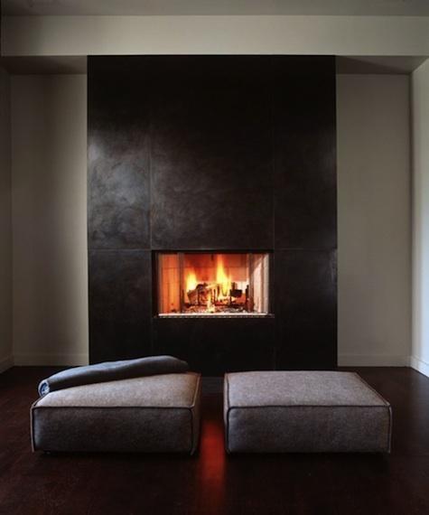 Настоящий огонь у вас дома. 12 вариантов каминов в жилых помещениях. Изображение № 11.