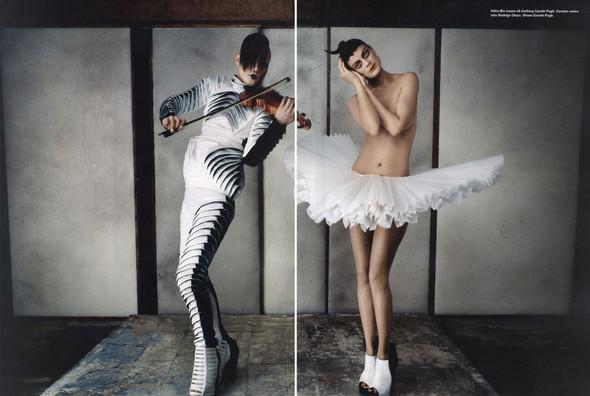 Съёмки: Elle, i-D и Vogue. Изображение № 9.