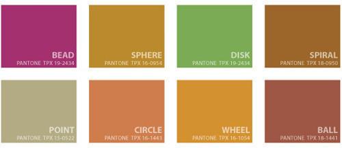 Модные цвета сезона весна лето 2009 отPantone. Изображение № 1.