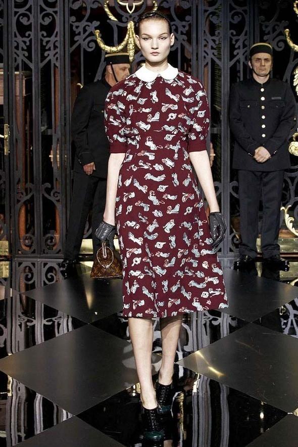 Изображение 20. Louis Vuitton Fall 2011.. Изображение № 20.
