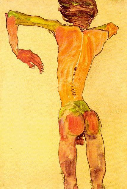 Эгон Шиле. Эротика вискусстве живописи ирисунка. Изображение № 9.