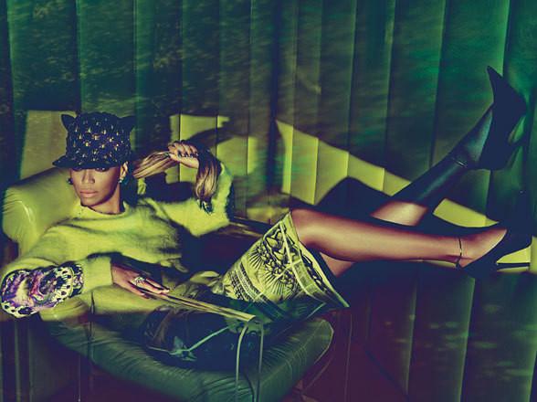 Изображение 57. Съёмки: Harper's Bazaar, Vogue, W и другие.. Изображение № 56.