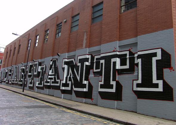 Стрит-арт в Лондоне. Изображение № 38.