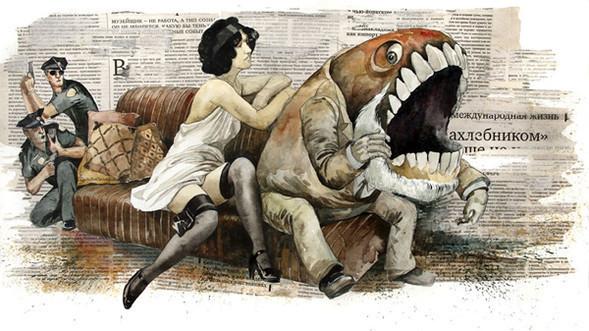 Watercolor in me: Dmitry Ligai. Изображение № 7.