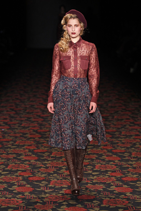 Berlin Fashion Week A/W 2012: Lena Hoschek. Изображение № 24.