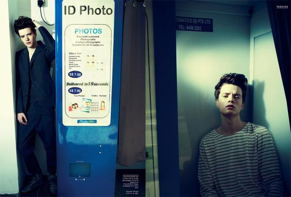 Мужские съёмки: i-D, Interview, FHM и другие. Изображение № 24.